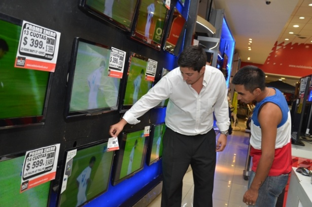televisores ventas