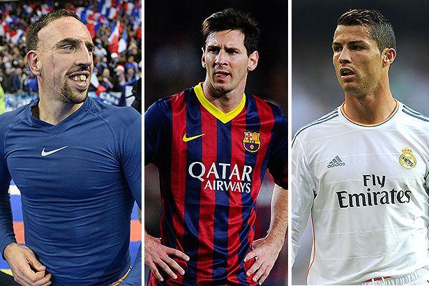Franck-Ribery-Lionel-Messi-and-Cristiano-Ronaldo