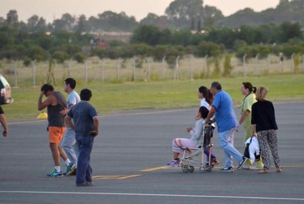 Agustín y su familia llegada