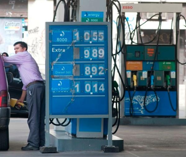 combustible precios